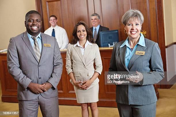 Hotel gestão e do pessoal