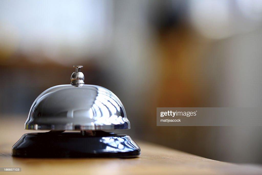 reception dell'Hotel bell : Foto stock