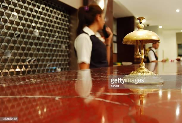 Recepção de Hotel Bell
