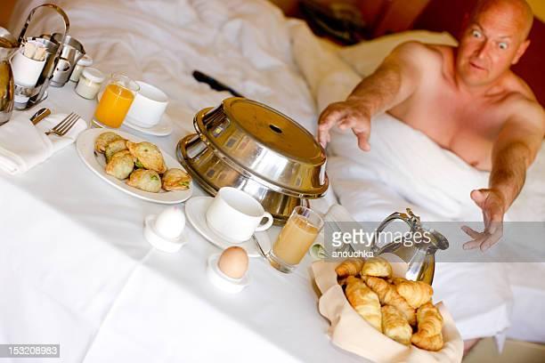 Camera dell'Hotel per la prima colazione