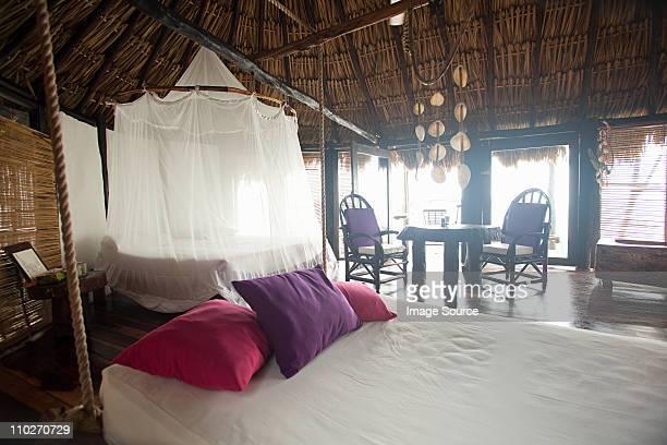 Hotel room in beach hut