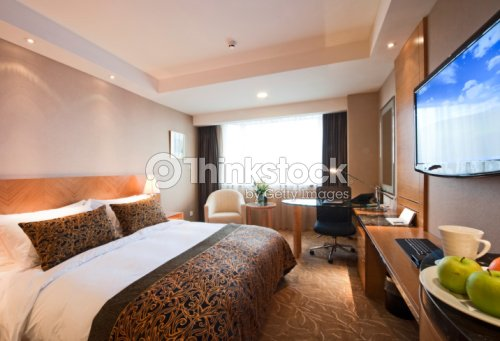 hotel room interior : Stock Photo