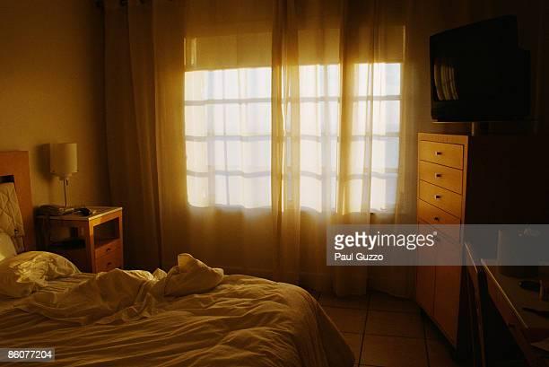 Hotel room,     Miami,     Florida