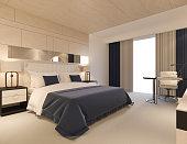 Render of Hotel Room