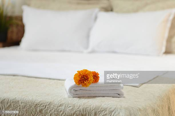 hotel room towels