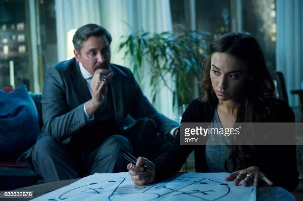 THE MAGICIANS 'Hotel Spa Potions' Episode 202 Pictured Charles Mesure as The Beast Stella Maeve as Julia