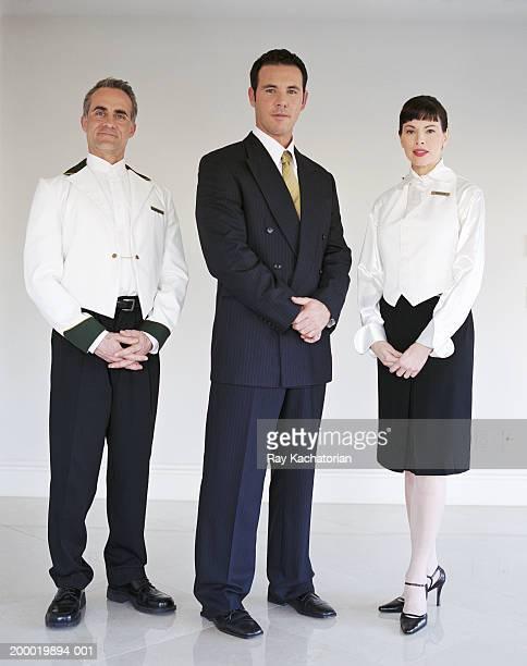Hotel staff, portrait
