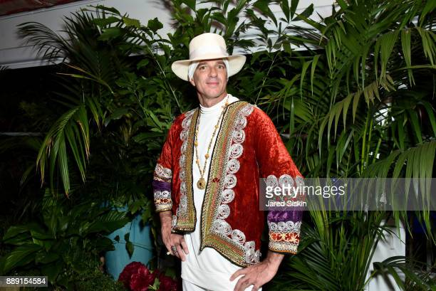 Hotelier Alan Faena attends the Gucci X Artsy dinner at Faena Hotel on December 6 2017 in Miami Beach Florida