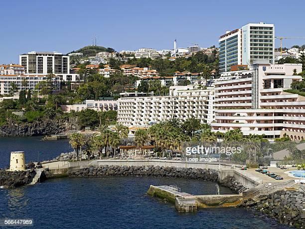 Hotels along the Madeira coast
