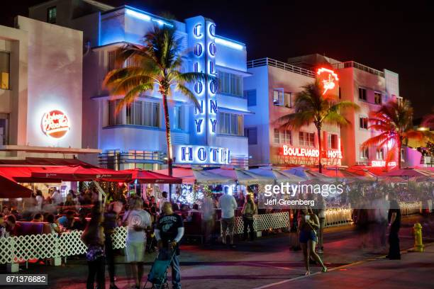 Hotels on New Year's Eve night on Ocean Drive