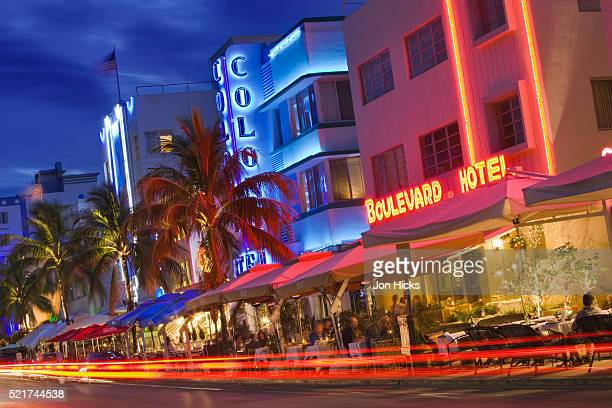 Hotels on Ocean Drive