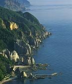 Hotokegaura coastline, Hotokegaura, Aomori Prefecture, Japan