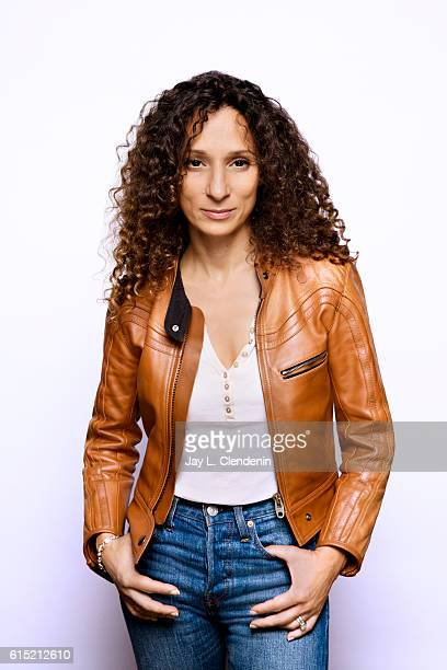 Houda Benyamina director of 'Divines' poses for a portraits at the Toronto International Film Festival for Los Angeles Times on September 09 2016 in...