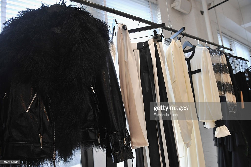 Houghton clothes pictured during the Houghton presentation at the Houghton Atelier during Fall 2016 New York Fashion Week on February 10, 2016 in New York City.