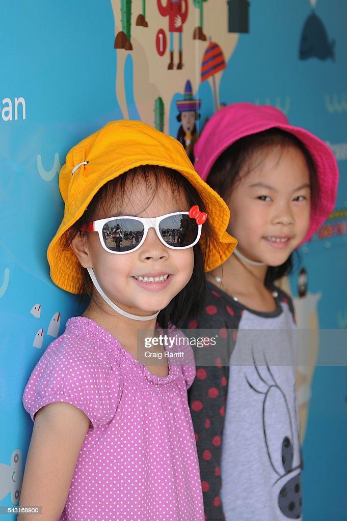 Houghton Mifflin Harcourt Kicks Off 'Curious World' Summer Tour, Inspiring Playful Learning Nationwide on June 26, 2016 at Brooklyn Bridge Park in Brooklyn, New York.