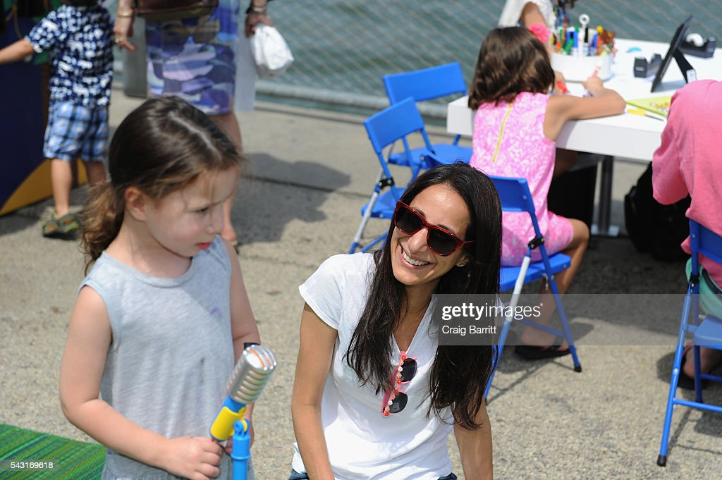 Houghton Mifflin Harcourt Kicks Off 'Curious World' Summer Tour, Inspiring Playful Learning Nationwide on June 26, 2016 at Brooklyn Bridge Park in Brooklyn, New York.