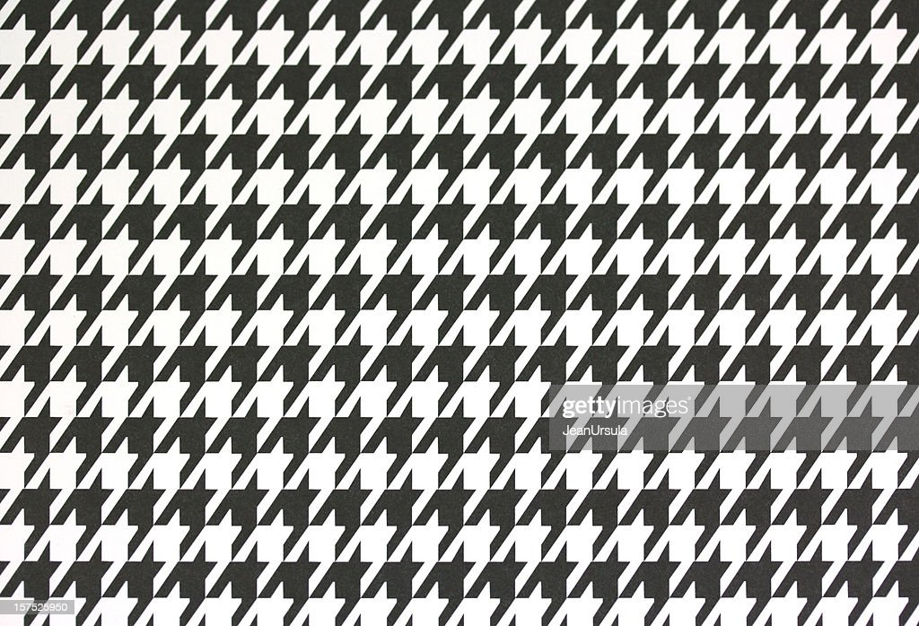 Houndstooth Printed Paper