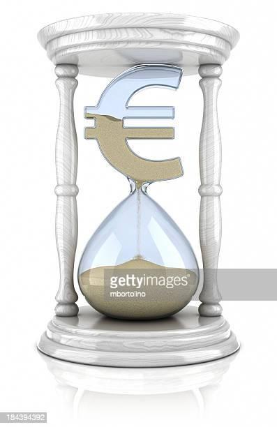 Eieruhr euro-Verlust-Konzept