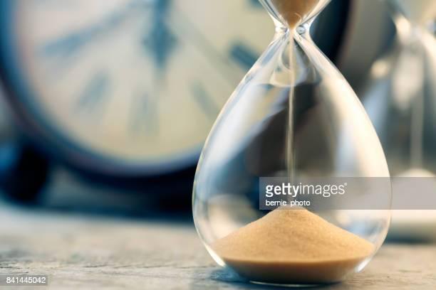 Flujo de reloj de arena