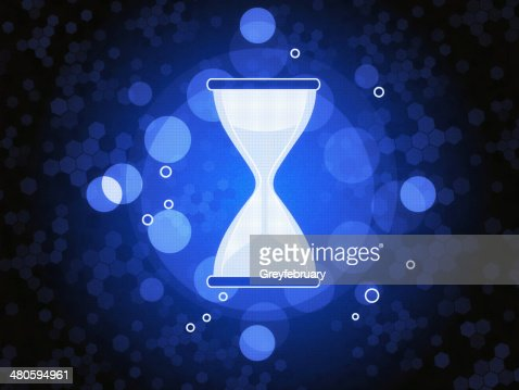 Hourglass Timer : Stock Photo