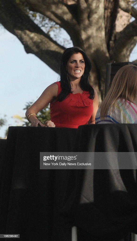 Hours after being identified as the whistleblower in the Gen. David Petraeus scandal, Jill Kelley attends birthday gathering at her home in Tampa, Fla.