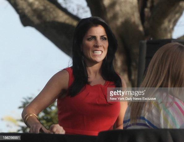 Hours after being identified as the whistleblower in the Gen David Petraeus scandal Jill Kelley attends birthday gathering at her home in Tampa Fla