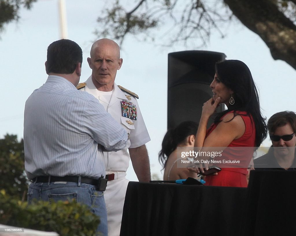 Hours after being identified as the whistleblower in the Gen David Petraeus scandal Jill Kelley attends birthday gathering with Vice Adm Robert S...