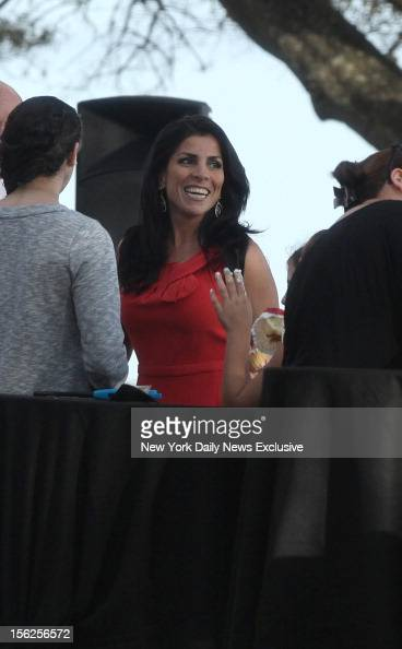PREMIUM RATES APPLY Hours after being identified as the whistleblower in the Gen David Petraeus scandal Jill Kelley attends birthday gathering at her...