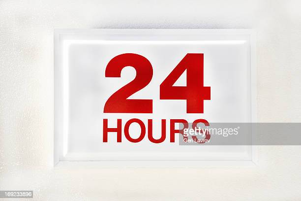 24 hours sign