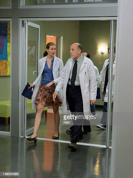 House '97 Seconds' Episode 3 Pictured Anne Dudek as Dr Amber Volakis Carmen Argenziano as Henry Dobson