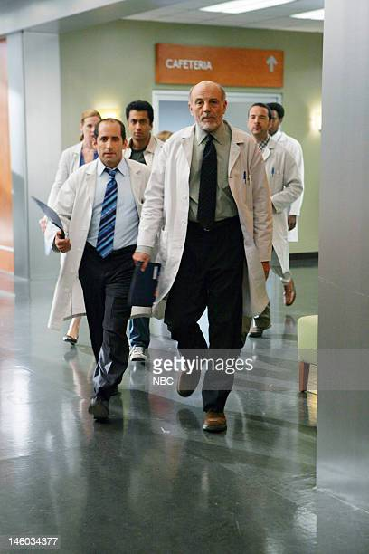 House '97 Seconds' Episode 3 Pictured Peter Jacobson as Dr Chris Taub Carmen Argenziano as Henry Dobson