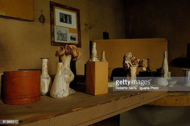 House and studio of painter Giorgio Morandi inaugurate after restoration on October 16 2009 in Bologna Italy