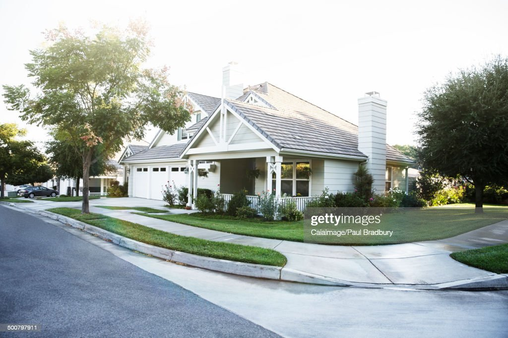 House and yard : Photo