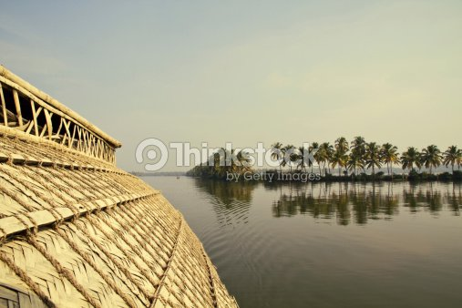 House Boat in Backwaters ( Kerala, India ) : Stock Photo