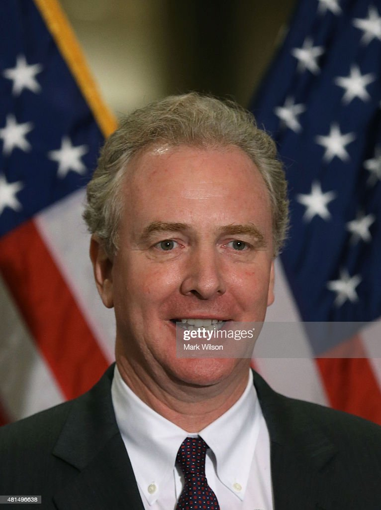 House Budget Committee ranking member Chris Van Hollen (D-MD) speaks during a news conference on Capitol Hill July 21, 2015 in Washington, DC. The House Democrats called for immediate negotiations on a new budget agreement that removes the threat of government shutdown and allows for responsible investments in health care, education, infrastructure.