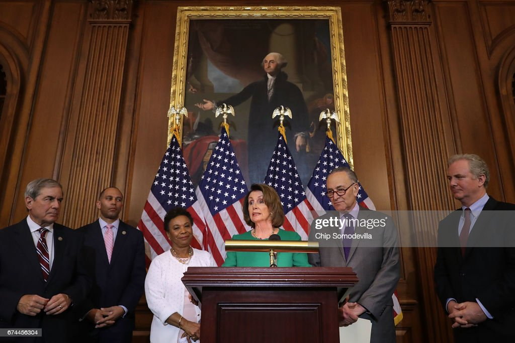 Congressional Democrats Hold Press Conf. On Trump's First 100 Days In Office