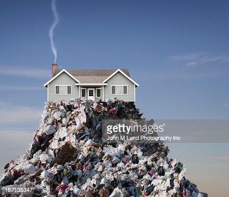 House built on landfill
