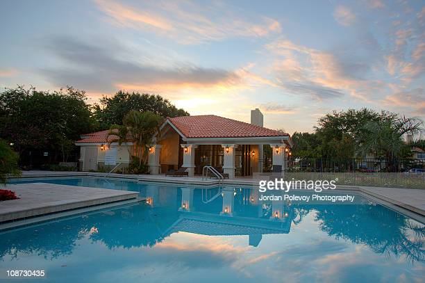 House by the pool