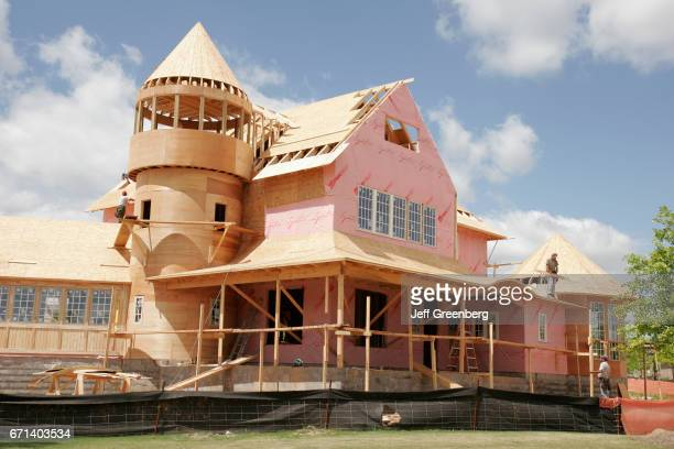 A house construction at Renaissance Ross Bridge Golf Resort and Spa