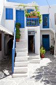 House door in Naxos