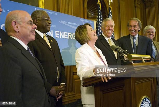 House Energy Chairman Henry A Waxman DCalif House Majority Whip James E Clyburn DSC House Speaker Nancy Pelosi DCalif House Majority Leader Steny...