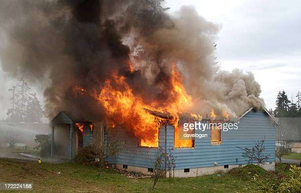 House Engulfed With Flames