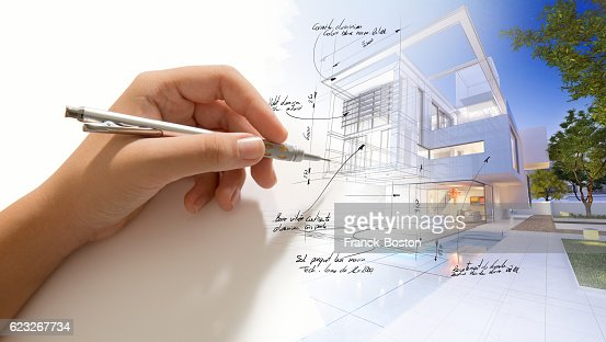 House finishing touch : Stock Photo