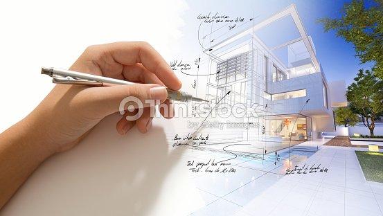 House finishing touch : Stock Photo