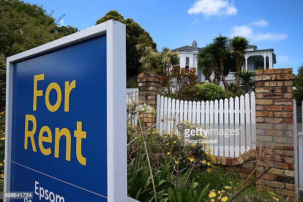 A house for rent in Dominion Rd Mt Eden on November 25 2015 in Auckland New Zealand The average house price in Auckland has risen by 70 per cent to...