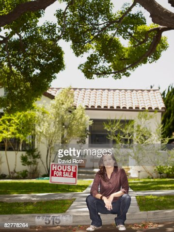 House for sale : Bildbanksbilder