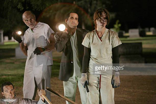 House 'Guardian Angels' Episode 4 Pictured Andy Comeau as Dr Travis Brennan Carmen Argenziano as Henry Dobson Peter Jacobson as Dr Chris Taub Olivia...