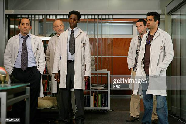 House 'Guardian Angels' Episode 4 Pictured Peter Jacobson as Dr Chris Taub Carmen Argenziano as Henry Dobson Edi Gathegi as Dr Jeffrey Cole Andy...