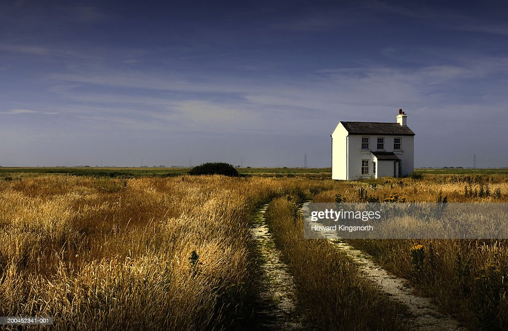 House in countryside : Stock Photo