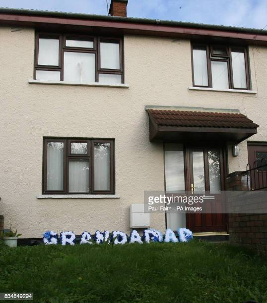 A house in the Ballysillan area of Belfast where a man died at the weekend